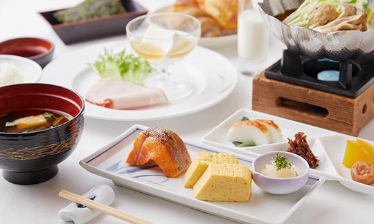 朝食,地元三重産の海の幸・山の幸を味わう季節の和定食<
