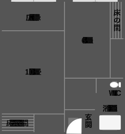スタンダード和室の見取り図
