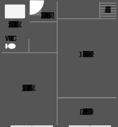 スタンダード和洋室の見取り図